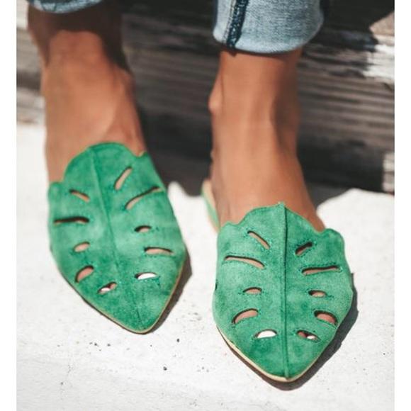 833fc0c2bab Jungle leaf shoes - one day sale!